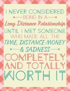 We asked our reader whey love about their long distance relationships, and this is what they had to say!