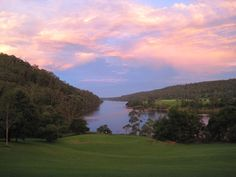 View of the Shoalhaven River from the verandah of Riversdale in NSW. When I was a teenager, I stayed at this property. I used elements from this landscape to create Avendale.