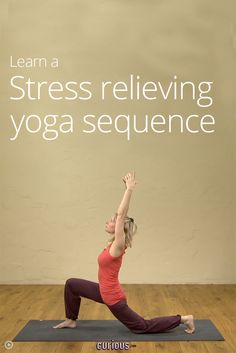 Stress Relief Yoga Sequence. repined by www.banyantreeyoganh.com