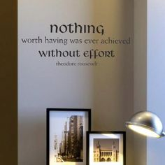 I would love to have this written in a office space with my degrees and diplomas hanging around it :-)