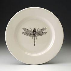 Laura Zindel Design - Dinner Plate: Dragonfly, $50.00 (http://www.laurazindel.com/dinner-plate-dragonfly/)