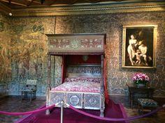 Quarto de Catarina de Médicis, Castelo de Chenonceau