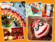 Muppet Baby Shower anyone? I know. Amazing stuff right? The food, the decorations, the Rainbow Connection cake, the KERMIT PINATA. Wow and WOW!All of these projects come from one of my new favorite bloggers, Alicia Policia -- you have to check out the full posts on her site. Prepare to be amazed!Original images by Alicia…