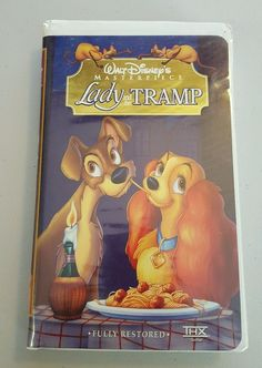 Lady and the Tramp (VHS, 1998, Clam Shell) in DVDs & Movies, VHS Tapes | eBay