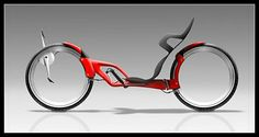 Ergonomics meets comfort in Zurlinden& Recumbent Bicycle. I love front wheel Drive part of this bicycle Velo Design, Bicycle Design, Cool Bicycles, Cool Bikes, Foldable Electric Bike, Electric Bicycle, Electric Scooter, Monocycle, Traction Avant