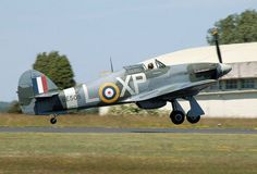 Information on the British Hawker Hurricane fighter aircraft from World War II .