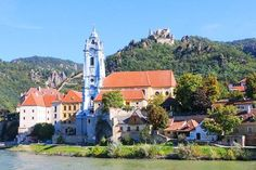 Thinking about taking a Danube River Cruise? Cruising through the Wachau Valley is one of the highlights of a Danube River Cruise. Here's what you'll see in the Wachau Valley #vienna #budapest #hungary #austria #durnstein #danube #river #cruise #wachau #v Places To Travel, Travel Destinations, Places To Visit, Travel Tips, Austrian Village, Wachau Valley, Danube River Cruise, Best Cruise, Cruise Travel