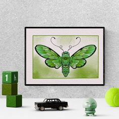 green butterfly, drawing, painting, aesthetic, colorful, cute, for kids, watercolor, printable, art print #butterfly #green  #etsy Butterfly Drawing, Cute Butterfly, Green Butterfly, Butterfly Watercolor, Kids Watercolor, Green Watercolor, Watercolor Drawing, Nursery Prints, Nursery Decor