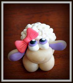 polymer+clay | sheep, polymer clay | Flickr - Photo Sharing!