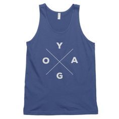 YOGA Compass Classic Tank (Men's or Women's)