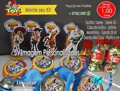 SV Imagem Personalizados - Silmara Vintem: Monte seu kit festa de guloseimas do Toy Story gastando pouco