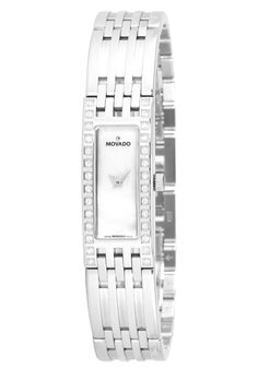 Price:$1287.00 #watches Movado 0606302, Established in 1881 by a young watchmaker named Achille Ditesheim, it was only in 1905 that his company became known as Movado - Esperanto for 'always in motion'. Movado produced the first rectangular mechanical wristwatch in its frenetic innovation period during the 1930s. Then, in 1961, Movado introduced its flagship Museum Watch, so named because it appeared in 1959 in the New York Museum of Modern Art's permanent exhibit.