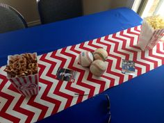 Baseball boy baby shower Not sold, but it is cute. Mariano is being named after the greatest closer in baseball history #42.... an idea to consider
