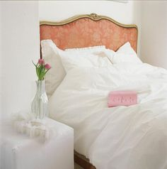 Ultra-feminine and serene, comfy and loose white bedding with   15 Romantic and Feminine Bedrooms   POPSUGAR Home