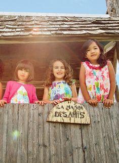 Shop now at deuxpardeux.com #kidsstyle #dress #littlegirl #kidsfashion #littleboy #kidswear Follow our Pinterest page at @deuxpardeuxKIDS Little Girl Fashion, Kids Fashion, Backyard Playset, Urban Chic Fashion, Kids Wear, Summer Collection, Little Boys, Boy Outfits, Boy Or Girl