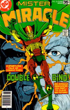 Mr Miracle #24, June 1978, cover by Marshall Rogers