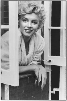 USA. New York City. 1954. Marilyn Monroe, Elliott Erwitt: