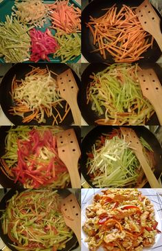 rizses csirke02-tile Cooking Recipes, Healthy Recipes, Healthy Food, International Recipes, Kimchi, Wok, No Cook Meals, Main Dishes, Delish