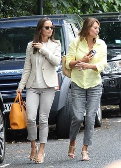 Pippa Middleton steps out with her mother Carole in London on her 33rd birthday || 6.9.2016