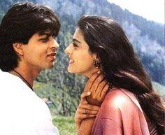#Kajol and #SRK : @Omg SRK