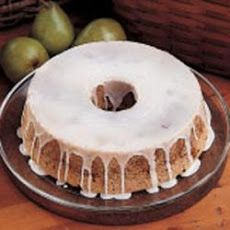 Fresh Pear Cake II Recipe
