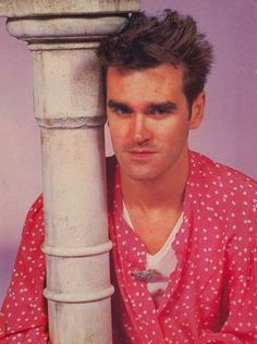 Morrissey ― photo by Eugene Adebari (1987) | via Following The Mozziah Blog.