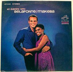 Harry Belafonte and Miriam Makeba 1965 album cover