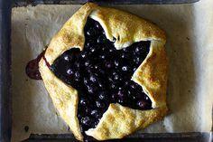 4th of July star galettes- blueberry lemon ricotta galette by smitten, via Flickr