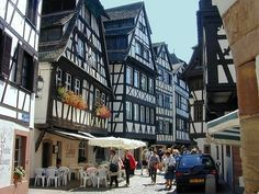 Strasburg France Beautiful medieval architecture
