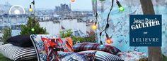 Textile Jean-Paul Gaultier par Lelièvre - Collas Décoration