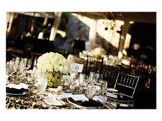 Montaje boda con mantel estampado