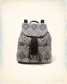 Patterned Jacquard Backpack