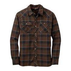 Feedback Flannel Shirt Earth/Black