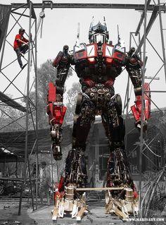 6.50 Meter22 ft high Large metal sculpture Metal art door Mari9art