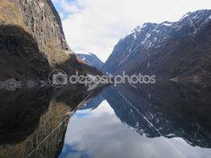 Fjord in Norway — Foto Stock #10976971
