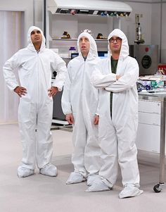 "The Big Bang Theory season 8, episode 11, ""The Clean Room Infiltration"""