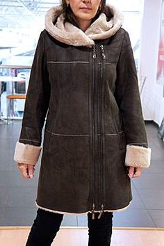 Sewing Pants, Only Girl, Stylish Outfits, Fur Coat, Winter Fashion, Leather Jacket, Couture, Womens Fashion, Jackets