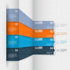 Abstract paper infografics - Stock Illustration - iStock