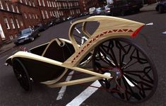 SUPER SLEEK BAMBOO RECUMBENT TRICYCLE CONCEPT