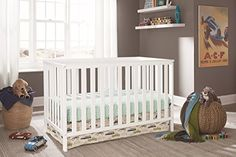 Showcase the contemporary style of your baby's nursery with this Storkcraft Rosland convertible crib. Nursery Room, Girl Nursery, Best Crib, Baby Growth, Convertible Crib, Crib Mattress, Kids Store, Baby Cribs, All Modern