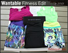 Wantable Fitness Edit Review- September 2015 #wantable