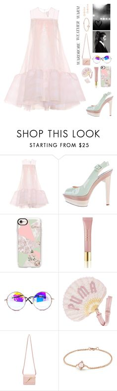 """""""candy lady 🍬"""" by bartivana ❤ liked on Polyvore featuring HUISHAN ZHANG, Christian Louboutin, Casetify, AERIN, Puma, Sophie Hulme, David Yurman and Rebecca Minkoff"""