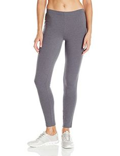 Women's Athletic Leggings - Hanes Womens Stretch Jersey Legging *** Check out the image by visiting the link. (This is an Amazon affiliate link)
