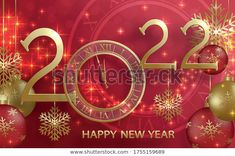Happy New Year Wallpaper, Illustrations, Holiday, Christmas, Banner, Stationery, Neon Signs, Abstract, Pattern