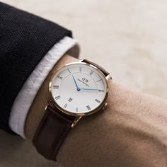 A First Look and chat with Filip Tysander on the new Daniel Wellington Dapper Watch Collection for Best Looking Watches, Best Watches For Men, Cool Watches, Daniel Wellington Men, Dw Watch, Mode Man, Rose Gold Watches, Diamond Watches, Gentleman Style