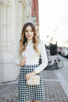 What Olivia Did...: Sixties Checks Vogue, Trends, Fashion Over 40, Orla Kiely, Preppy Style, Autumn Winter Fashion, Fall Fashion, Fall Outfits, Office Outfits