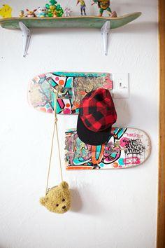 DIY Skateboard Shelves!