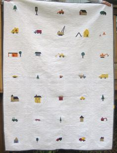love this quilt for boys!