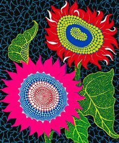 paintings of Yayoi Kusama - Google zoeken
