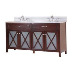 "Magick Woods 60"" Lakefield Collection Vanity Base"